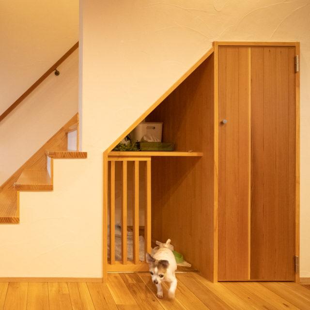 【四街道市】愛犬のための「 巣穴がある家 」