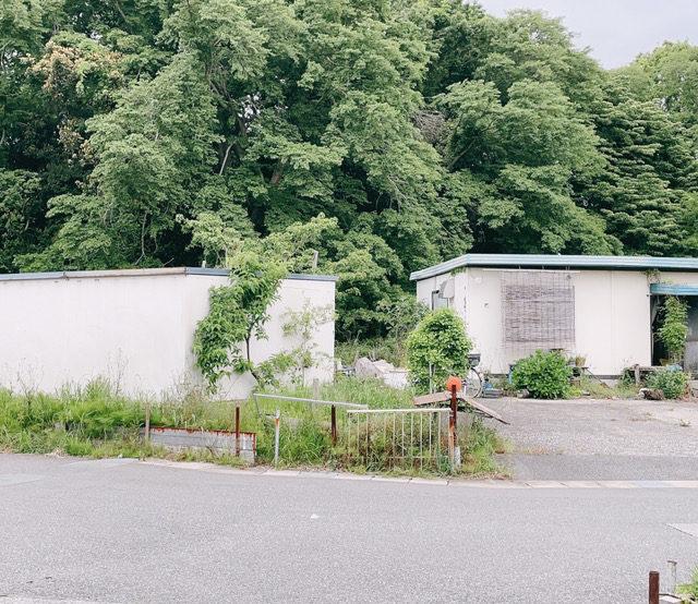 現場調査〜緑に囲まれた住宅地の一角〜