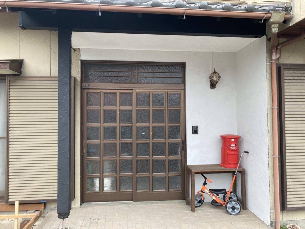 自宅の玄関改修