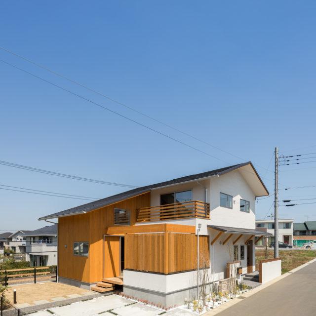 東京湾を見渡す家