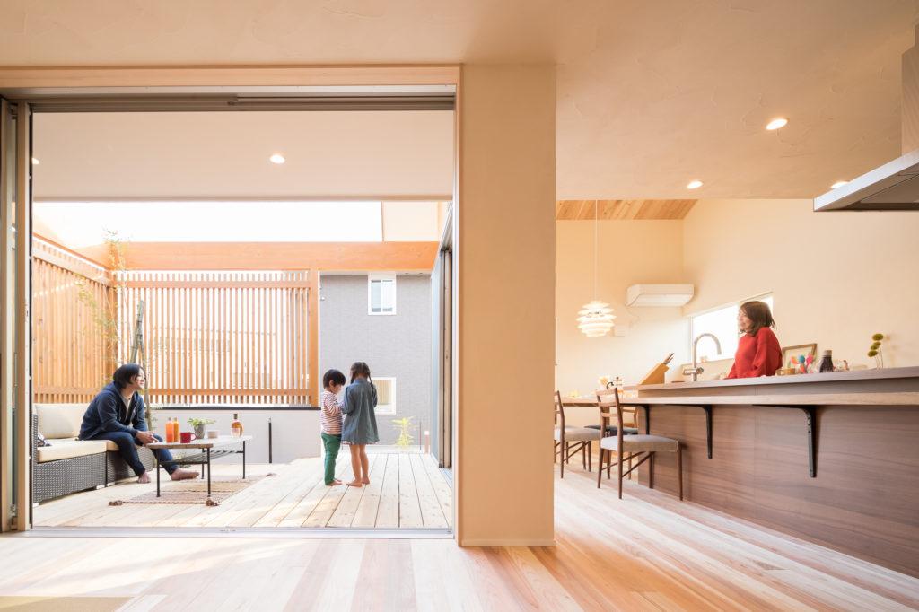 【袖ヶ浦市】2つのプライベートテラスを愉しむ家